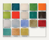 Ceramic Tiles Colors Chart